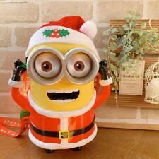 Universal Studio Japan Limited Minion Santa Claus Christmas Popcorn Bucket F/S