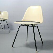 Charles Eames Side Chair Herman Miller Fiberglas Parchment Vitra Stuhl 4506