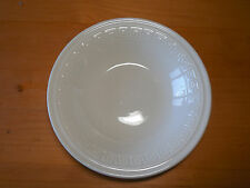 Lynn's Stoneware SIGMA WHITE Round Vegetable Serving Bowl 9""