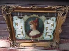 Rare 1903 SWIFT'S Premium Die Cut Victorian Girl Calendar Gesso Angelo Asti Girl