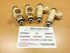 GENUINE BRAND NEW 4Pcs Fuel Injector SUITS HYUNDAI ELANTRA 2002-2006 2.0L