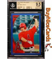 2010 Mike Trout Topps Pro Debut Blue SP RC Rookie /259 BGS 9.5 with 10 Surface