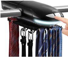 Tie Rack Hanger Organizer for Men Fits up to 50 Ties & Belts