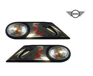 Originale MINI COOPER S R55-R59 Seitenblinker-Set Bianco Nuovo 63137268881+