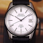 Authentic King Seiko Hi-beat Date Ref.5625-7040 White Dial Automatic Mens Watch