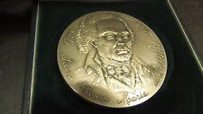 ancienne medaille argent 6 cm  santucci jean portalis 131 grammes