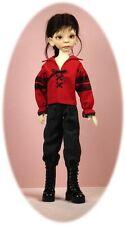 BJD MSD pattern for boy dolls: Poet & Prince shirt & pencil pants; fits Maurice!