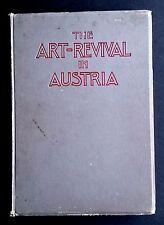 ART REVIVAL IN AUSTRIA Studio Special 1906 Wiener Werkstatte Nouveau Hoffmann