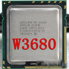 Intel Xeon W3680 3.33 GHz Six Core 12M Processor Socket 1366 CPU Single Channel