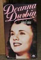 First Love VHS Deanna Durbin