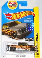 2014 Hot Wheels Factory Set Walmart Exclusive Chevy Silverado Zamac