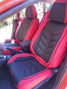PREMIUM Red Black FULL Car Seat Cover for Kia Sportage Sorento Optima Rio Cerato