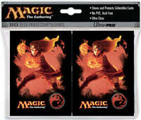 80ct Chandra Fire Symbol-Art Deck Protector Card Sleeves MTG Ultra Pro 66 x 91mm