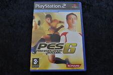 PES Pro Evolution Soccer 6 Playstation 2 PS2