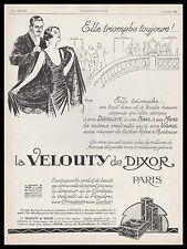 Publicité La Velouty de DIXOR Cosmetique Cosmetics  vintage print ad 1925 -2h