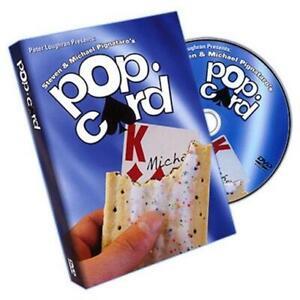 Pop Card by Steven and Michael Pignataro - DVD - Magic Tricks