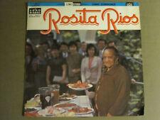 V/A ROSITA RIOS LP ORIG '65 SONO RADIO LPL 2071 SE-9071 RARE LATIN PERU FOLK VG+