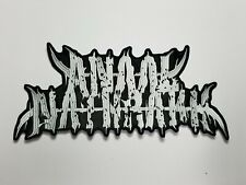 Anaal Nathrakh Embroidered BACK PATCH