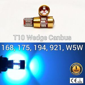 T10 W5W 194 168 2825 License Plate Light Ice Blue 27 Canbus LED M1 For Scion M