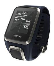 TomTom Golfer 2 GPS - Golfuhr Entfernungsmesser Farbe: blau, Armband : breit!
