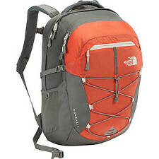 The North Face: Womens Borealis Backpack CHK3 - Nasturtium Orange/Sedona Sage