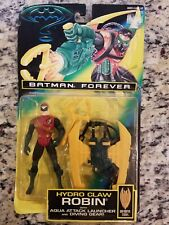 VINTAGE NEW 1995 Kenner Batman Forever Hydro Claw Robin DC COMICS Action Figure