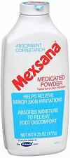 Mexsana Medicated Powder 6.25 oz (Pack of 6)