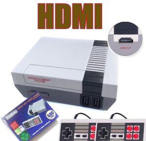 HDMI Mini Retro TV Game Console NES Classic 600 Built-in Games 2 Controllers xma