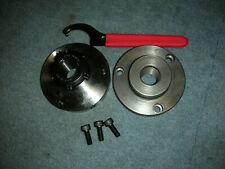 ATLAS CRAFTSMAN 9-12 INCH LATHE ER 32 COLLET CHUCK+1 1/2-8 BACKING PLATE+WRENCH