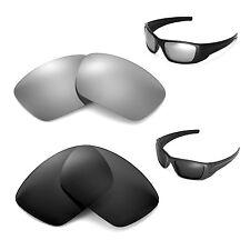 New Walleva Polarized Black + Titanium Lenses For Oakley Fuel Cell