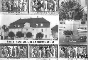 AK, Reuterstadt Stavenhagen, Fritz-Reuter-Literaturm.