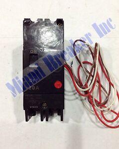 TEY220 GE Circuit Breaker 2 Pole 20 Amp 120/240V (New)