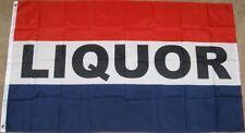 3X5 LIQUOR FLAG STORE BANNER SIGN ALCOHOL 3'X5' F999