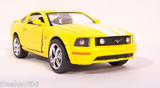 YELLOW 2006 '06 Ford Mustang GT Car Vehicle Diecast Model 1/38 Pull Back