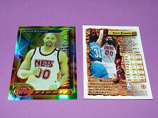 BENOIT BENJAMIN NEW JERSEY NETS FINEST TOPPS 1994 NBA BASKETBALL CARD