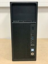 HP Z240 - Xeon 4C E3-1245v6@3.70GHz, 32GB DDR4, 256GB M.2 SSD+1TB, Windows10 Pro