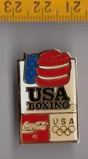 BOXING TEAM USA Olympic Games pin badge Coca Cola