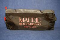 NOS COLLECTIBLE US AIRWAYS MADRID, MAY 13, 2011,COMMEMORATIVE 3-1 PACK-ABLE TOTE