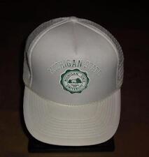 Michigan State hat Spartans Vintage Snapback 90s RaRe mesh trucker nwot NCAA cap