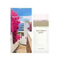 LIGHT BLUE Escape to Panarea Dolce & Gabbana 1.6 oz EDT spray Women Perfume NIB