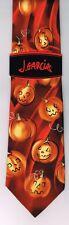 "RARE Jerry Garcia NEW ""Snail Garden"" Halloween Tie Necktie NWT Fall Holiday #54"