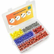240 Pcs Wire Nuts Assortment With Spring Insert Wire Nuts Caps Kit Electrical