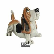 Arora Pets with Personality Dudley Basset Hound Figurine Dog Lovers Gift Boxed