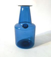 """60s Jacob Bang Kastrup Holmegaard Siegel Glas Vase """"Capri"""" glass verre annees 60"""