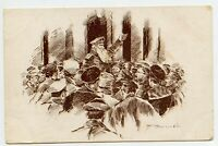 WWI Charity for Wounded Skobelev Committee  Russia Vintage Postcard military