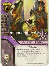 Warhammer Invasion - 1x #033 Malekiths Agent - Fragmente der Macht