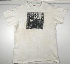 Vtg 1986 FOD Flag Of Democracy Shatter Your Day T-Shirt Hardcore Philly PUNK XL
