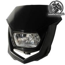 Lampenmaske schwarz für Gas Gas/Yamaha/Honda/Kawaski (Enduro,Lampe,Scheinwerfer)