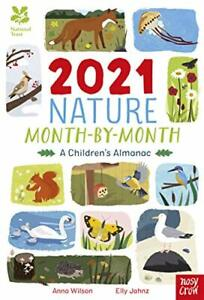 National Trust: 2021 Nature Month-By-Month: A Children's Alma New Hardcover Book