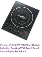 Prestige PIC 2.0 V2 2000 Watt Electric Induction Cook top With Touch Panel